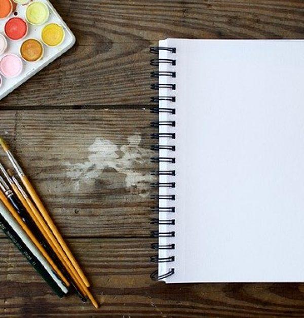 ceruza, rajzlap, vízfesték