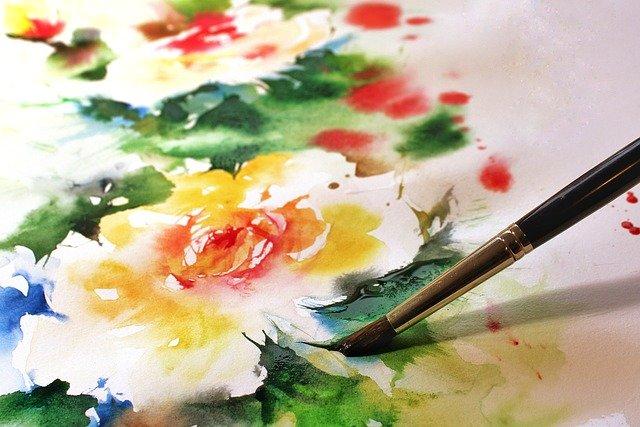 akvarell festés