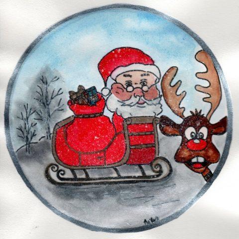 Télapó és Rudolf