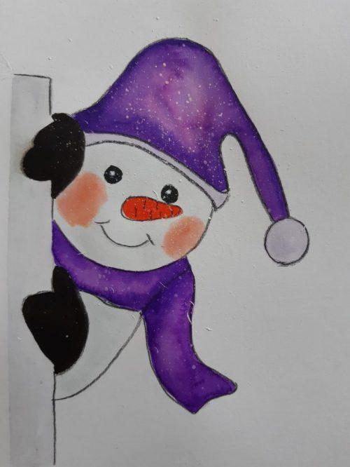 hóember festése ingyenes videó