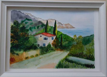 Akvarell kép