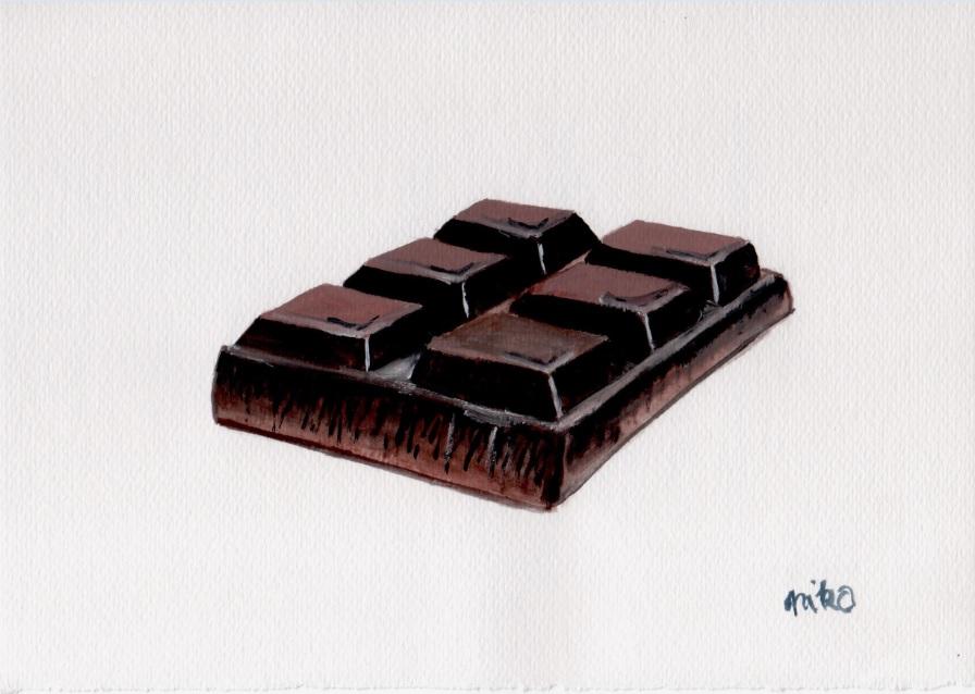 tábla csoki gouache festő tanfolyam