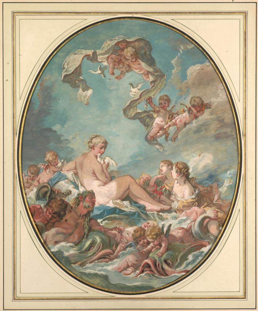 Francois Bouacher: Vénusz születése