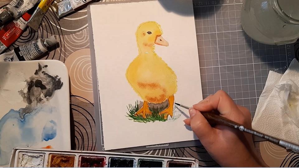 Hogyan javíts akvarellt gouache festékkel
